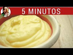 Cómo hacer crema pastelera: ASÍ SIEMPRE SALE BIEN (Receta de crema pastelera fácil) - YouTube Kitchen Recipes, Baking Recipes, Vegan Recipes, Hispanic Desserts, Ganache, Tasty, Yummy Food, Frosting Recipes, I Love Food