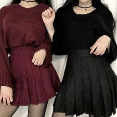 Imagem de fashion, girl, and black