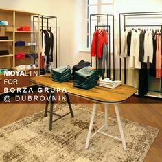furnishes new boutique of grupa in *croatia* - a new shop fashion brand Michael Kors and Armani Jeans! Dubrovnik Croatia, Public Spaces, Armani Jeans, New Shop, A Boutique, Wardrobe Rack, Fashion Brand, Michael Kors, Interior Design