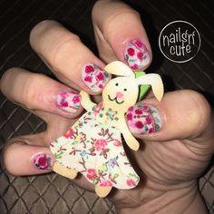 Nail Art, Nails, Cute, Beauty, Finger Nails, Ongles, Kawaii, Nail Arts, Beauty Illustration
