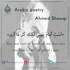 Egyptian poet  Ahmed Shawqi