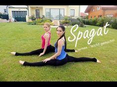 ▶ WORKOUT I Wie lerne ich den SPAGAT? I Anleitungen für Zuhause - YouTube Yoga, Workout, Total Body, Pilates, Youtube, Challenges, Fitness, Sports, Stretching