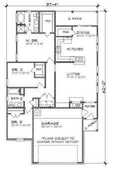 Floor Plan image of The Taylor House Plan