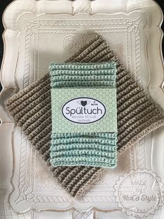 1 Spültuch häkeln mit Etikettenvorlage knitting to give you a better service we recommend you to browse the content on our site. Knit Crochet, Crochet Pattern, Modern Placemats, Knitted Washcloths, Learn How To Knit, Label Templates, Knitting For Beginners, Diy Gifts, Ravelry