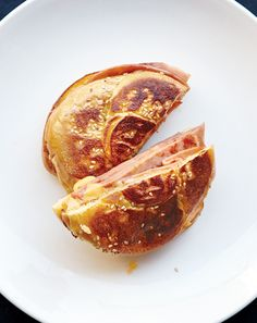 David Chang's Fried Italian Bologna (mortadella) Sandwich