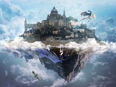 cities in the sky images - Google Search
