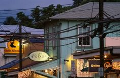 This little town is known for offering one of the few remaining traditional island experiences — in fact, it kind of feels like a time warp. The one-stoplight town is vibrant, colorful and offers authentic cuisine.