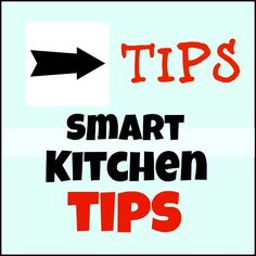 Make your kitchen a smarter place to cook in with these easy tips!