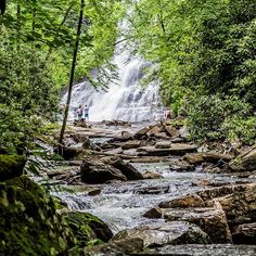 A destination that was merely a suggestion at the start of our time in Virginia, we never thought we'd make a visit to the Cascade Falls. Access to the falls isn't without some work and requires a 4 mile trail loop through a highly scenic area of the Jeff