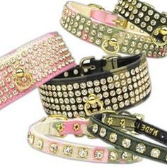 Jeweled Crystal Rhinestone Dog Collars | Collar Planet