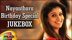 Nayanthara Birthday Special Video Songs Jukebox. Listen to superhit Telugu Songs from her blockbuster movies like Greeku Veerudu, Boss I Love You, Sri Rama Rajyam and E. Mango Music wishes Nayantara a very Happy Birthday.