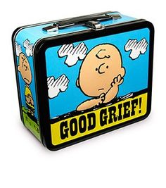 Peanuts Good Grief Lunchbox