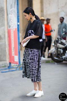 Paris Men's Fashion Week Spring 2015 Street Style: Sherry Shen