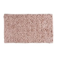 Add stunning design to your bathroom with this beautiful Rose bath mat from Aquanova. Finished with a delightful rose effect, this bath mat is luxuriously soft, perfect for stepping onto after a relax