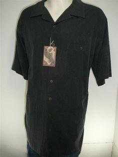 NWT mens CARIBBEAN shirt  2X Free Shipping  Hawaiian silk Roundtree Yorke $70 #RoundtreeYorke #Hawaiian