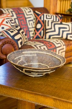 African Makenge Baskets - Woven in Zambia - Swahili Modern African Room, African Theme, African Interior, African Home Decor, African Textiles, African Patterns, African Prints, Ethno Design, Global Style