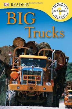 DK Readers L0: Big Trucks by Deborah Lock