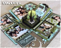 """""""Our Family"""" Explosion Box by Thienly 