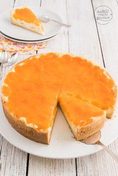 Käsekuchen mit Schmand und Mandarinen