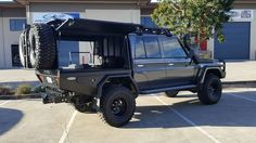 Outback Customs is a locally owned and operated custom fabrication business that specializes in all aspects of automotive custom fabrication work and modifications. Toyota Camper, Toyota Lc, Land Cruiser Pick Up, Toyota Land Cruiser, 4x4 Trucks, Diesel Trucks, My Dream Car, Dream Cars, Ute Canopy