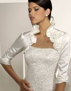 boleros   Los boleros más fastuosos son ideales para los vestidos de novia ...