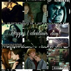❤Happy Valentine's day everyone❤  This is my TOP5 of the cutest couple of the book Harry Potter: 1. Severus and Lily(sorry James) 2. Tonks and Lupin 3. Ronald and Hermione 4. Harry and Ginny 5. Luna and Neville
