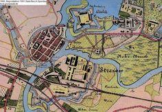 Stadtplan Spandau, 1880