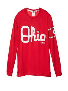 Ohio State University Long Sleeve Campus Tee