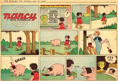 Ernie Bushmiller | Nancy 1942