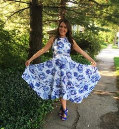 Spring Style: All the Blues