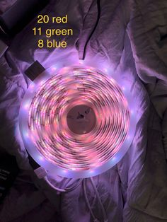 led lights lighting aesthetic neon strip bedroom pearl kaelie