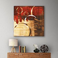 Shop for ArtWall Jennifer Pugh's Grunged Red Revolution II, Gallery Wrapped Canvas. Ships To Canada at Overstock.ca - Your Online Art Gallery Store!  - 18059283