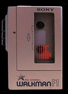 1979: the first Sony Walkman