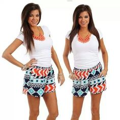 Love the shorts!  At the Mint Julep Boutique