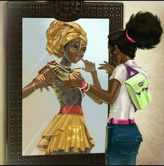 Black Nubian Queen