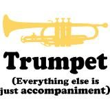 Trumpet, everything else is just accompaniment