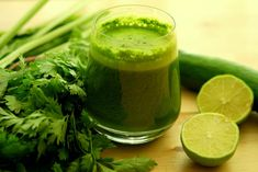 All you need is 1 lemon, 60 gm parsley, and 300 ml water.