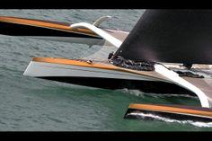 La Route du Rhum pour Yann Guichard ! Sailing, Yachts, Sailing Ships, Blue, Candle, Ship