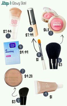 Makeup step1