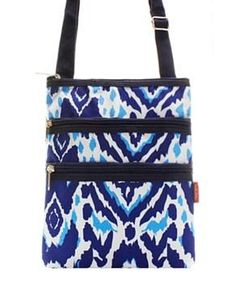 Ikat Print Messenger Bag  #accessoriesontheboardwalk #winfreestuff #2017fashion #beachlife #angelamillerdesigns #snapchatus #likeusoninstagram #monogrameverything #sale #preplife