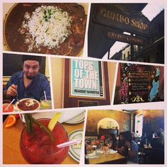 The BEST #Gumbo & #bloodyMarys we were here 2 years ago felt that way then & still do today! #NewOrleans #NOLA #FrenchQuarter #TheGumboshop