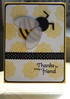 """Thanks for """"Beeing"""" My Friend"""