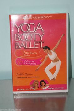 cf5037f85 Details about Yoga Booty Ballet - Total Toning Basics   Advanced Fat  Burning - Beach Body DVD