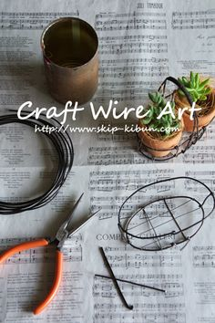 Craft wire art