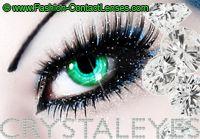Green Diamonds Crystaleyes Cosmetic Lenses