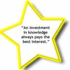 Benjamin Franklin - Invest in knowledge