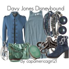 Davy Jones Disneybound