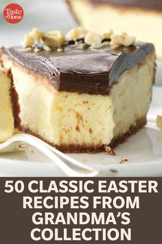 50 Classic Easter Recipes from Grandma's Collection recipes dessert recipes dessert brunch recipes dessert cake recipes dessert easy recipes dessert kids recipes dessert video Desserts Ostern, Köstliche Desserts, Delicious Desserts, Easter Desserts, Healthy Desserts, Easter Cupcakes, Easter Pie, Easter Dinner, Easter Brunch