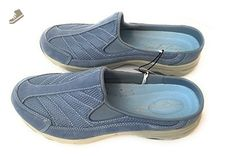 Easy Spirit Slide-On Eschotracing Casual Shoes (9.5, Light Blue) - Easy spirit mules and clogs for women (*Amazon Partner-Link)