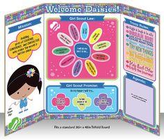 Girl Scout Daisy Printable  Meeting Information by BellaNoche1